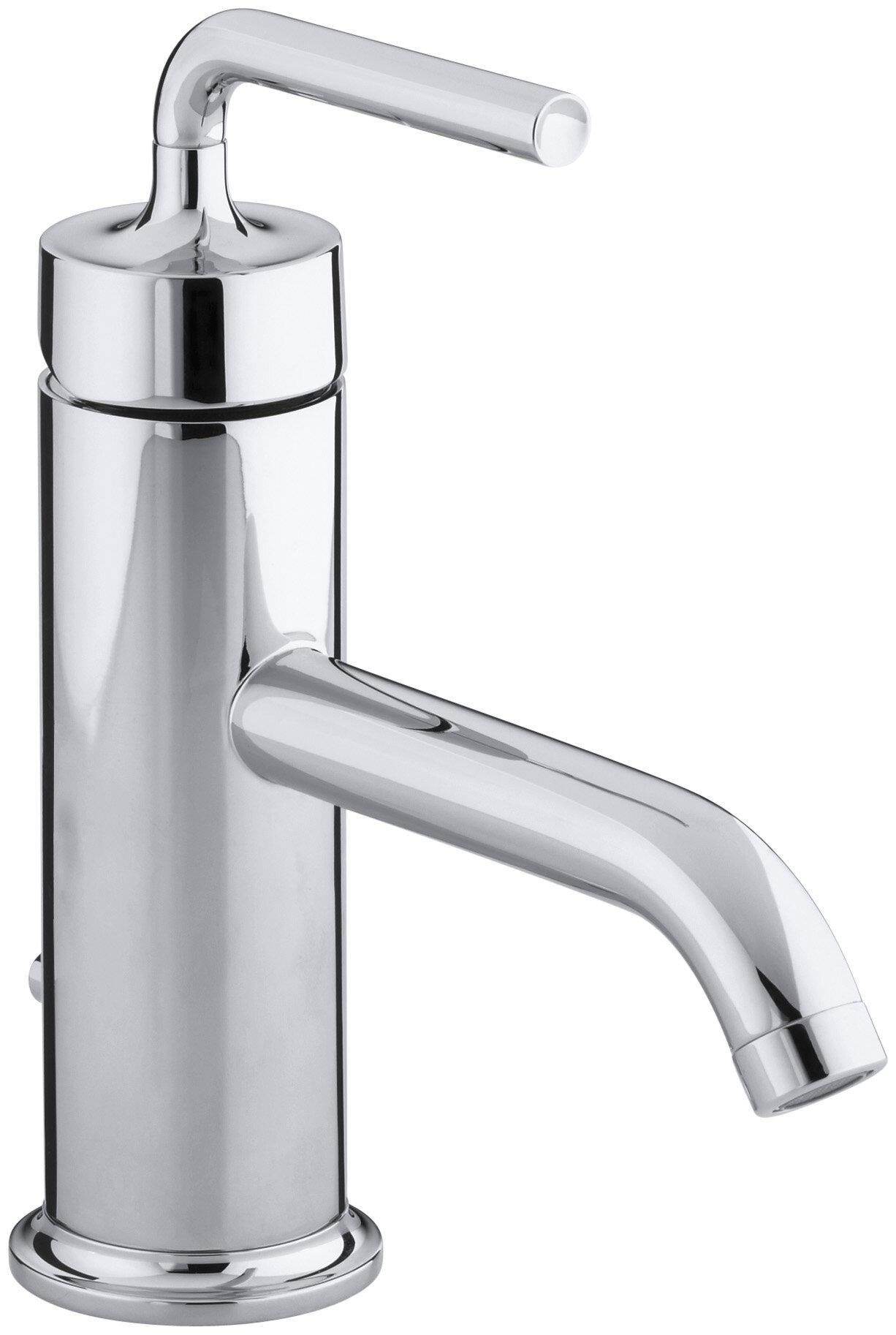 K-14402-4A-BGD,BN,BV Kohler Purist Single hole Bathroom Faucet with ...