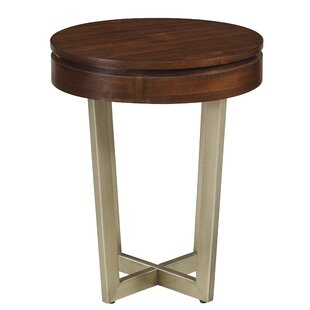 Round End Tables Youll Love Wayfair - Round end table with doors
