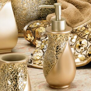 Rivet Champagne Gold Lotion Dispenser
