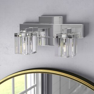 crystal bathroom vanity lighting you ll love wayfair