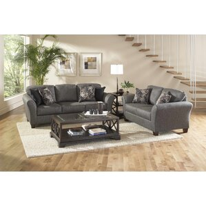 Elmira 2 Piece Living Room Set by Roundhill Furniture