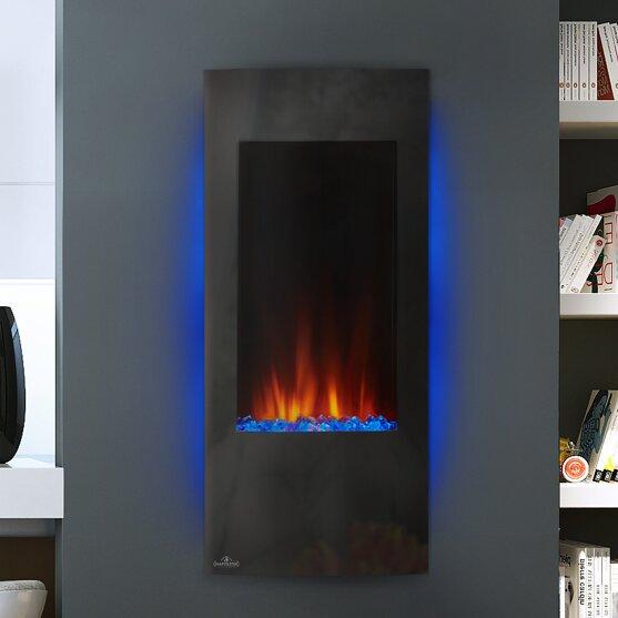 Merveilleux Azure™ Wall Mounted Electric Fireplace