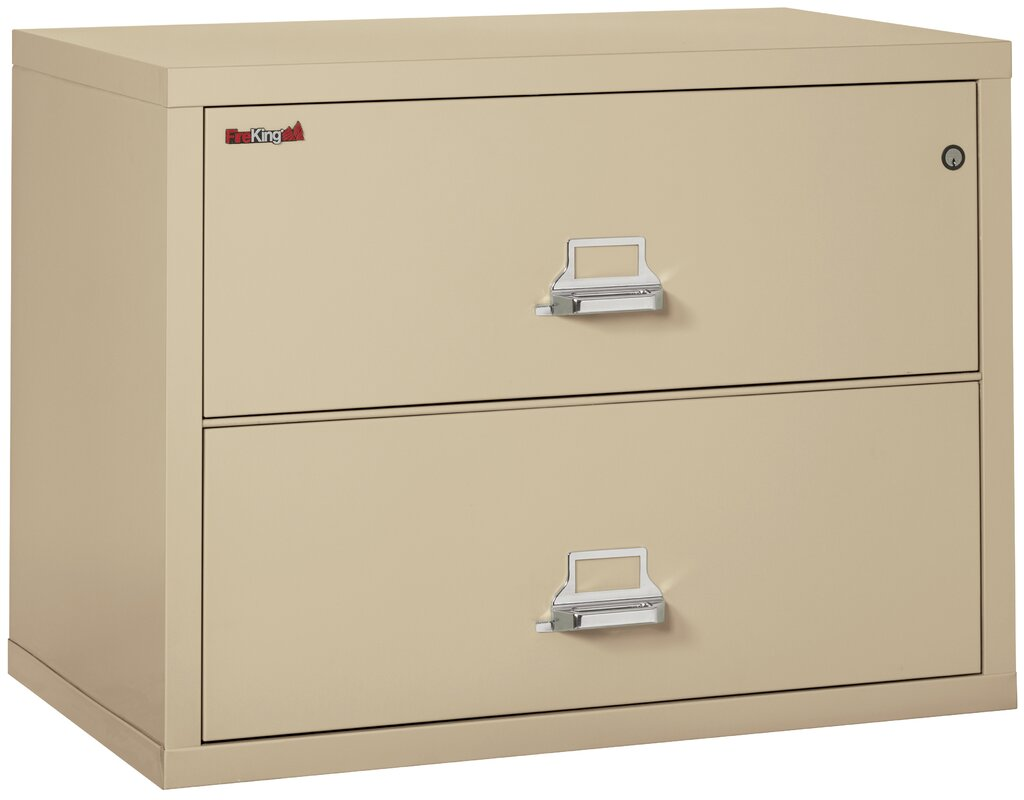 Fireproof 2 Drawer Lateral File Cabinet