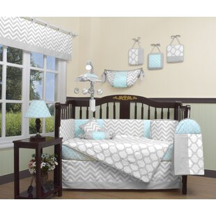 Aqua Crib Bedding Wayfair