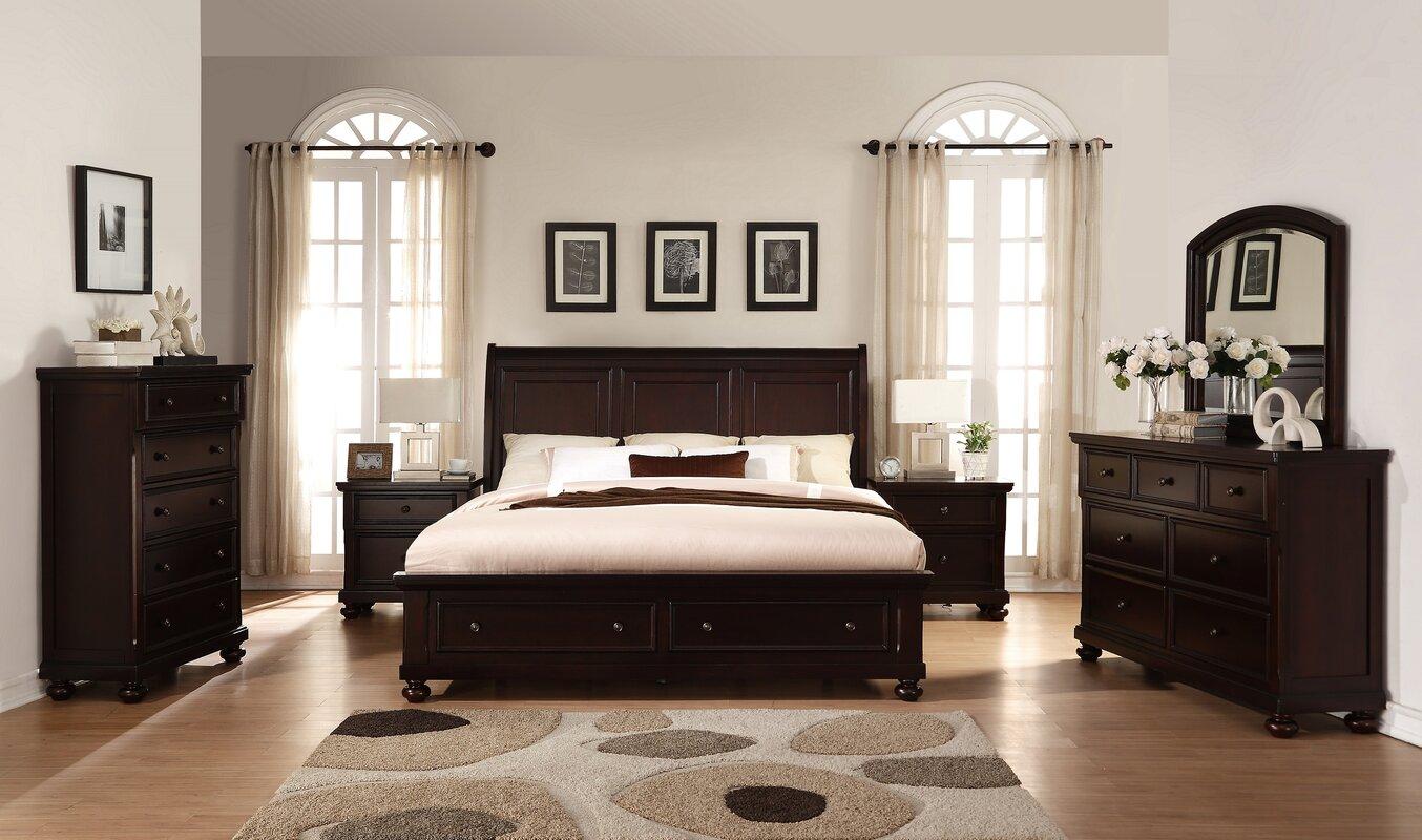 Wonderful Brishland Platform 6 Piece Bedroom Set Good Looking
