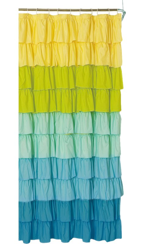 Bournazel Ruffled Shower Curtain