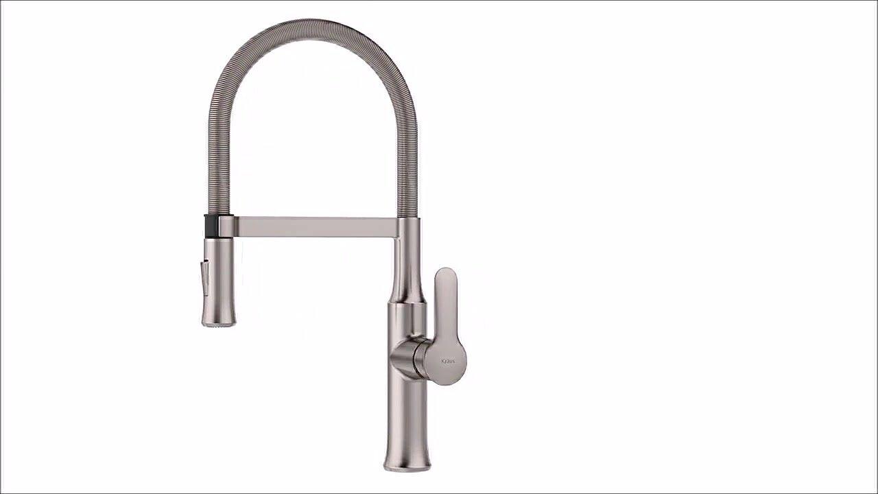 Kraus Nola Pull Down Single Handle Kitchen Faucet & Reviews | Wayfair