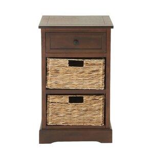 Lemington Cabinet With 2 Wicker Baskets