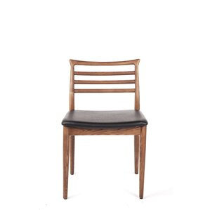 Genuine Leather Upholstered Dining Chair by dCOR..