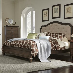 Abe Upholstered Panel Bed