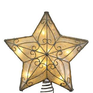 Star Kurt Adler Christmas Tree Toppers You Ll Love In 2019 Wayfair