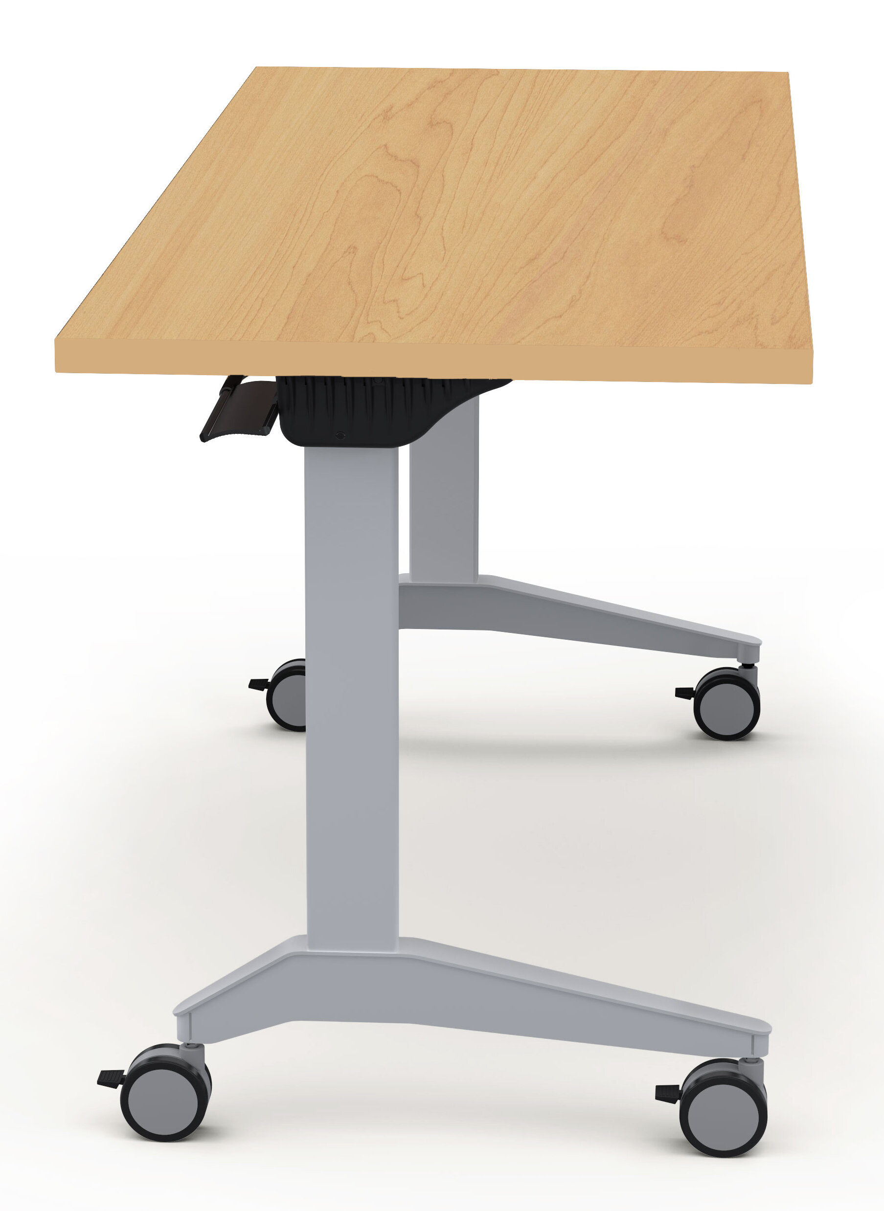 baltix sustainable furniture height adjustable training table with rh wayfair com desk with wheels ikea desk with wheels ikea