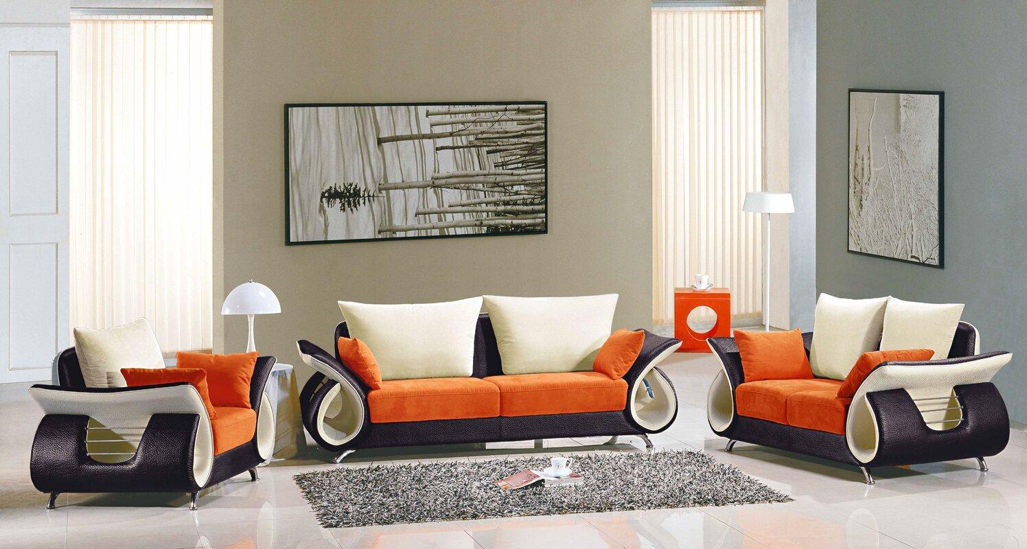 Boltz 3 Piece Living Room Set