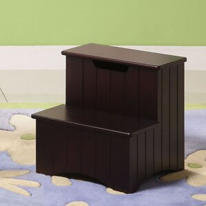2-Step Manufactured Wood Storage Step Stool with 200 lb. Load Capacity & Ladders \u0026 Step Stools You\u0027ll Love | Wayfair islam-shia.org