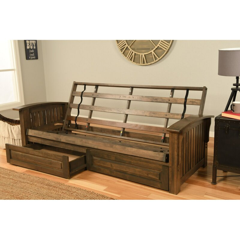 Charmant Clinchport Futon Frame And Storage Drawers