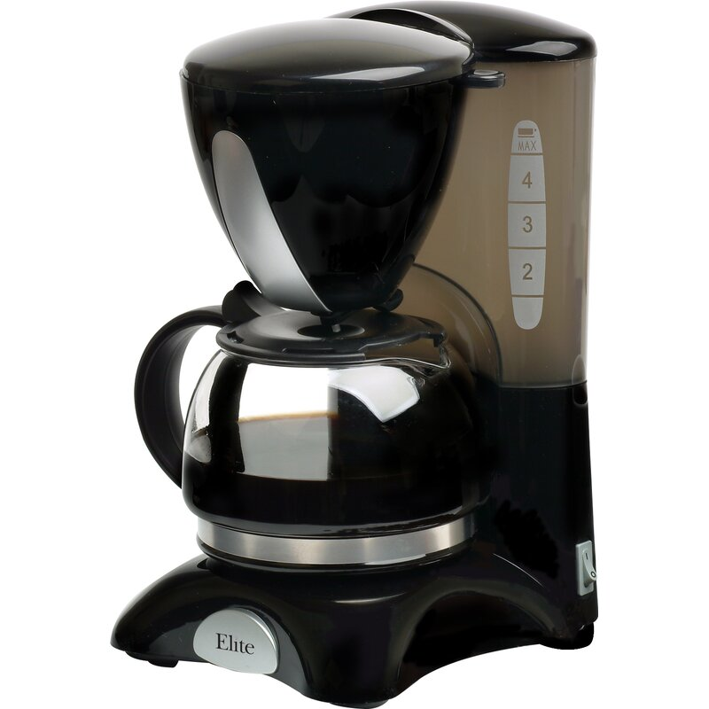 Cuisine 4 Cup Coffee Maker