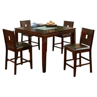 Louviere 5 Piece Dining Set