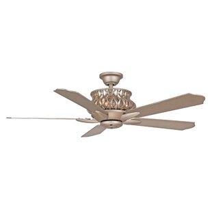 Hampton bay ceiling fan wayfair 52 jonson 5 blade ceiling fan with remote aloadofball Gallery