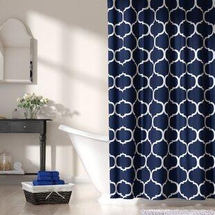 dark blue shower curtain. Save To Idea Board Blue Shower Curtains You Ll Love