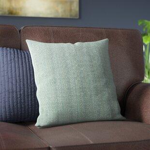 Verrett Solid Indoor/Outdoor Throw Pillow