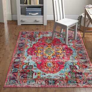 bbf87086182 Aliyah Square Pink Area Rug