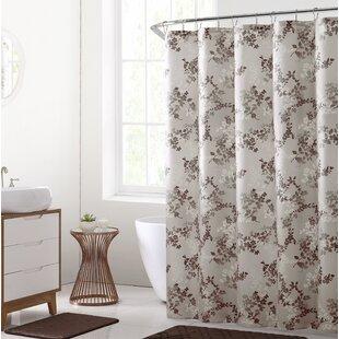 Estevao Printed Shower Curtain Set