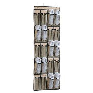Cheap Wheat Pocket Overdoor Shoe Organizer With Over The Door Spice Rack