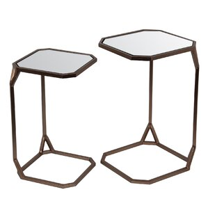 Samora 2 Piece Nesting Tables by Varick Gall..