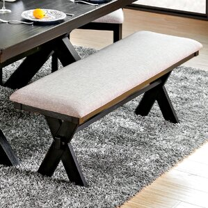 Manitou Transitional Wood/Metal Bench by ..