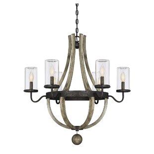 Outdoor Hanging Light Fixtures Outdoor hanging lights joss main mathers 6 light outdoor chandelier workwithnaturefo