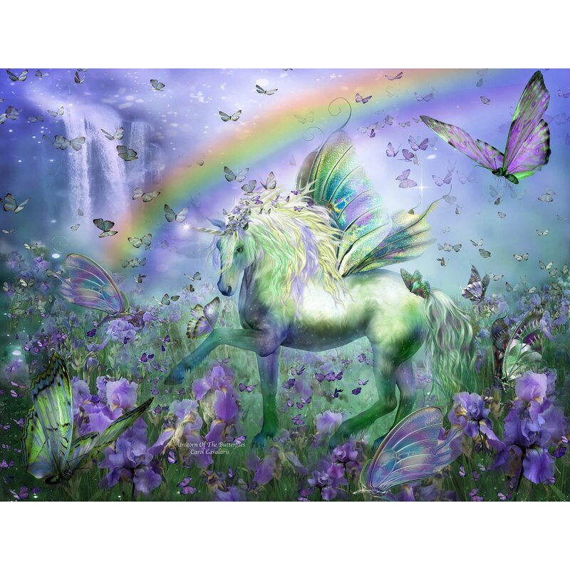 Wallhogs Cavalaris Unicorn of The Buttys Wall Mural Wayfair