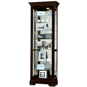 Saloman Lighted Curio Cabinet by Howard M..