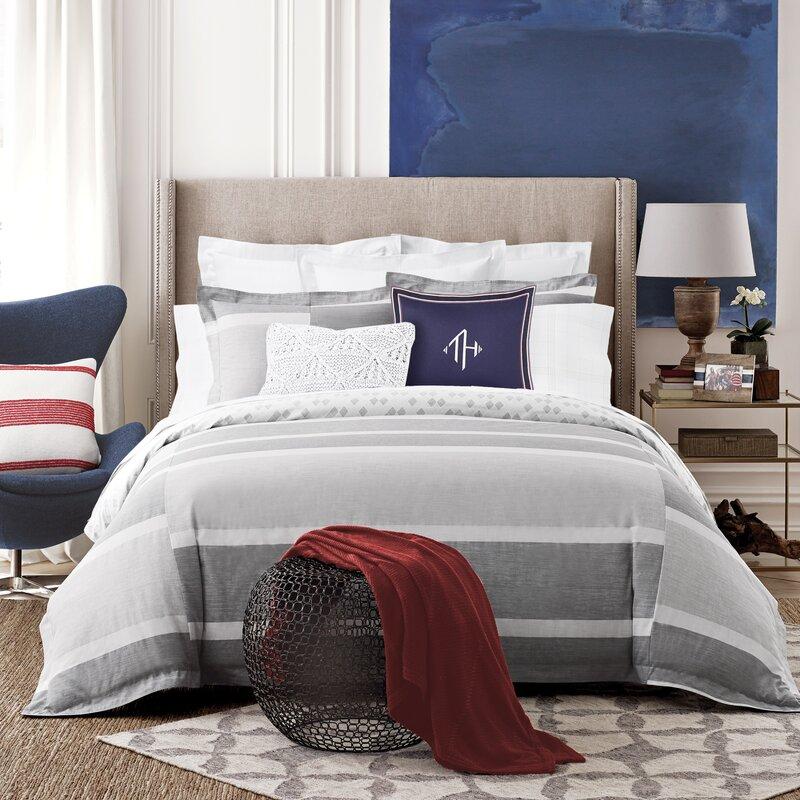 Tommy Hilfiger Woodford Stripe Reversible Comforter Set Reviews