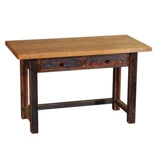 Reclaimed Barnwood 2 Drawers Writing Desk