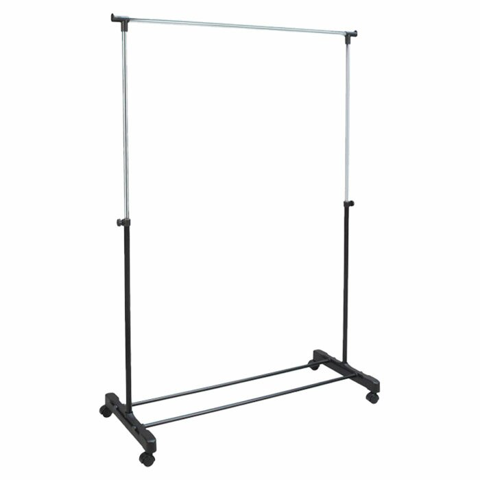 free standing clothes rack. Free Standing Storage Rolling Garment Rack Clothes Hanger L