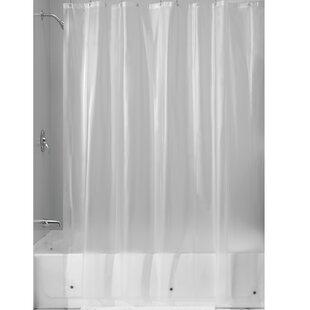 Miner PEVA Single Shower Curtain Liner