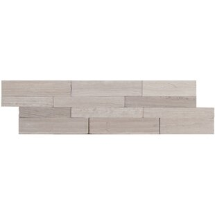 12 X Natural Stone L And Stick Subway Tile In Gray