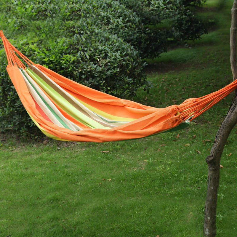 "AdecoTrading Hanging Suspended Tree Hammock  Color: Tahiti, Size: 63"" W x 118"" D"