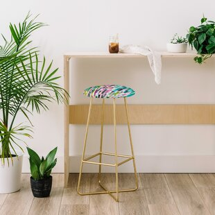 Ninola Design Green Nature Stripes 30 Bar Stool