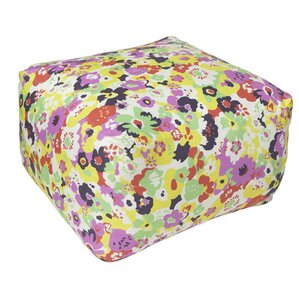 Wildflower Calypso Pouf Ottoman by Aimee Wilder Designs