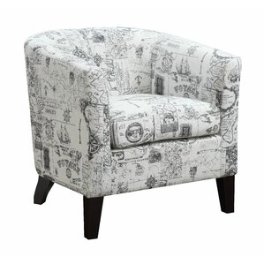 Jerry Barrel Chair by AC Pacific