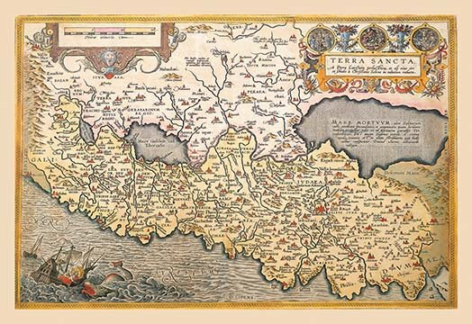 Buyenlarge \'Map of Northern Italy\' by A. Ortelius Graphic Art | Wayfair