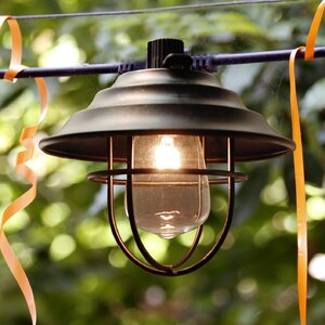 10-Light 10 ft. Lantern String Light