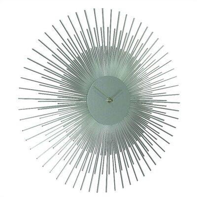 Brayden Studio 17 Sunburst Wall Clock