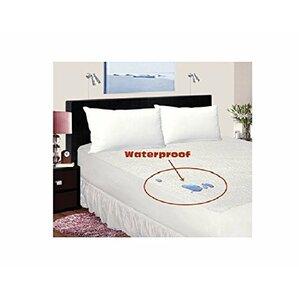 Allergy Relief Zippered Vinyl Hypoallergenic Waterproof Mattress Protector by ELEGANT COMFORT