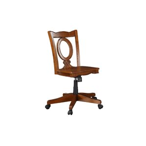 stroupe keyhole midback bankers chair