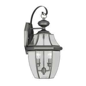 Gustavson 2 Light Outdoor Wall Lantern