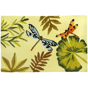 Dellroy Bamboo Dragonfly Area Rug