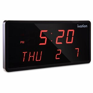 lighted clock face