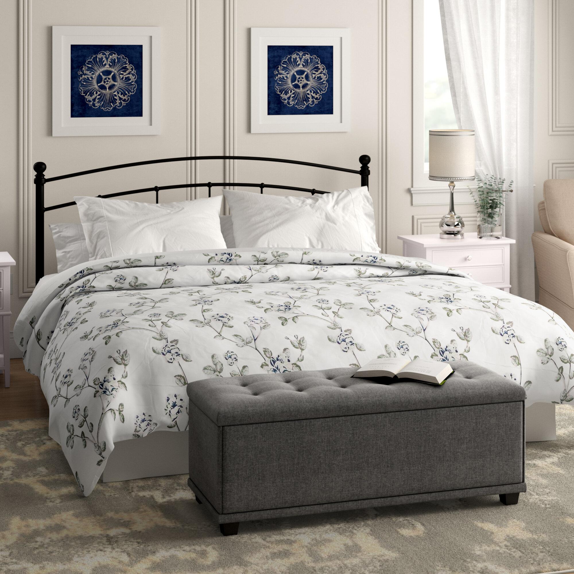 Kitchen Cabinet Warehouse Manassas Va: Winston Porter Manassas Floral Printed Quilted Blanket